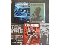 The Wire complete on dvd