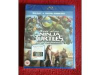 TEENAGE MUTANT NINJA TURTLES OUT OF THE SHADOWS BLURAY NEW & SEALED