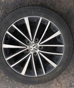 Summer rims and tires for Volkswagen Jetta