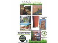 IS YOUR GARDEN A MESS THERE IS A CURE? Garden Maintenance Astro Turf Fencing Landscaping