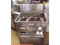 VALENTINE FRYER MAXI P 94 ELECTRIC CHIPS FRYER WITH PUMPED OIL FILTRATION FOR CAFE KEBAB TAKEAWAY