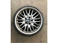 "18"" Genuine Bmw MV1 alloy wheel 8,5J"