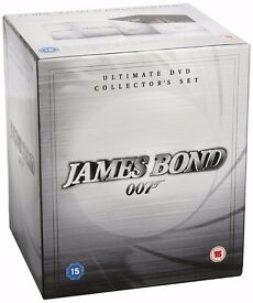James Bond 007 Ultimate DVD Collector's Set [DVD] [1962] 22 film box set