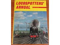 Locospotters Annual by Ian Allan Dated 1964 Excellent condition