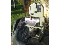 TYME Machines BS200 benchtop bandsaw for modeller or DIY Inherited & rarely used Buyer collects