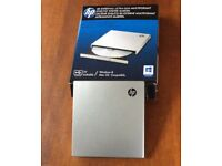 hp. DVD/CD WRITER Ultra Slim, lightweight and Portable