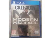 PS4 Call of duty; Modern Warfare