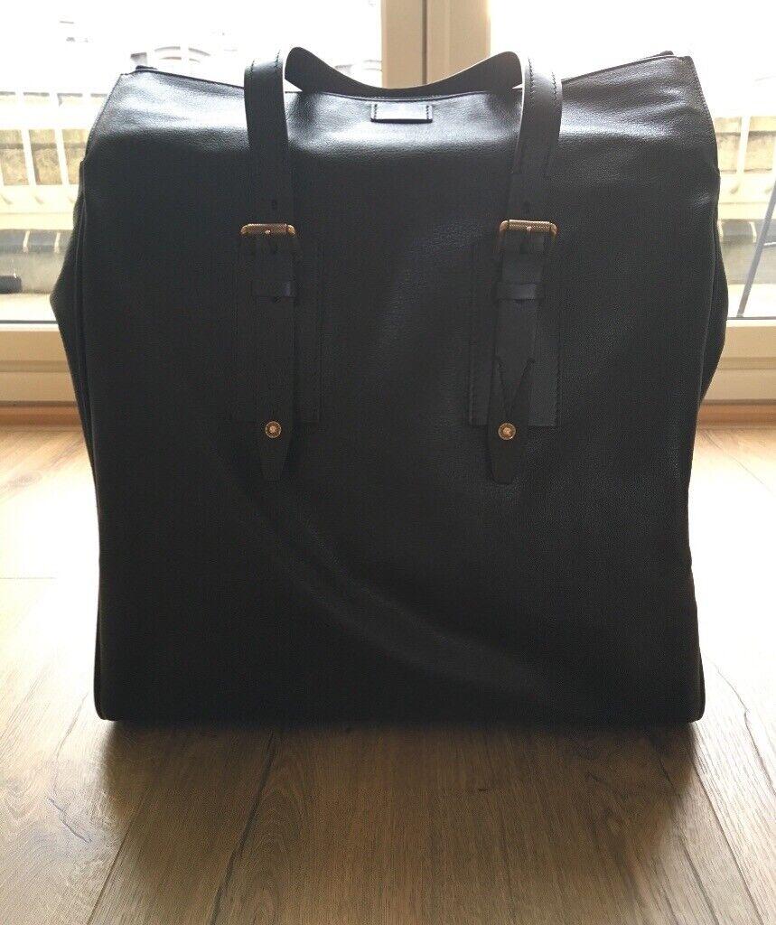 702f384cc0 Genuine Belstaff Black Leather Dorchester Tote / Weekend Bag | in ...