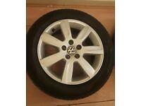 "Volkswagen Polo alloy wheels 15"""