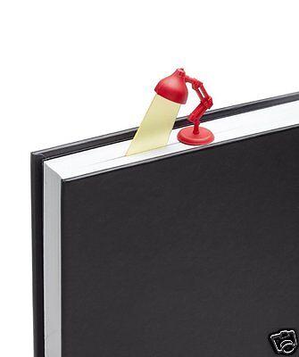 Lightmark Reading Lamp Bookmark Red Peleg Design Gift Funky