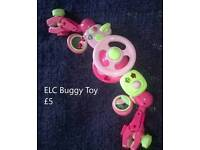 ELC Pink Buggy Driving Wheel