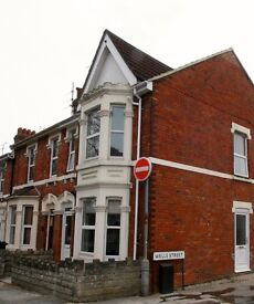 STUDIO FLAT, FULLY FURNISHED,WITH PRIVATE GARDEN, SWINDON TOWN CENTRE
