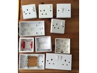 Miscellaneous Electrical Sockets - £5 for the lot