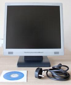 """NEC AccuSync LCD71VM - LCD monitor - 17"""" Screen Display"""