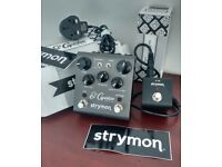 Strymon El Capistan dTape Echo v2 AND Mini Switch worth £360 new - boxed w power