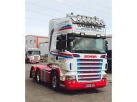 Scania R620 6x2 Tractor Unit