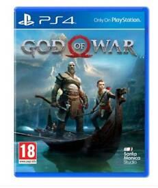 God of war Brand New Sealed
