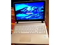 **Silver HP PAVILION NOTEBOOK,+FREE Microsoft Package
