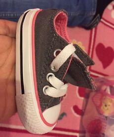 Infant size 2 converse