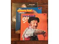 James last vinyls (3) - Ole, The James last album and Leave the best to last