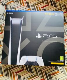 PS5 DIGITAL EDITION BRAND NEW SEALED UNOPENED IN BOX