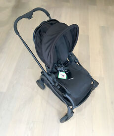iCandy Raspberry Pushchair with Black Chassis & Black Seat + Accessories