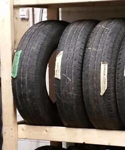 Set of two tires size 225/75R18 25% off