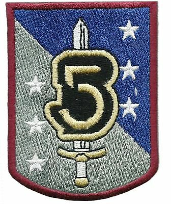 """Babylon 5 TV Series Army of Light Sword & Shield  2 1/2"""" Tall Embroidered Patch"""
