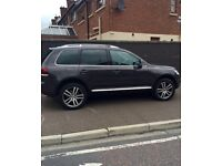 VW TOUAREG SE 3.0 TDI V6 225 ALTITUDE FACE LIFT MODEL 4X4 TOP SPEC INC CHROME PACK WITH ROOF RAILS