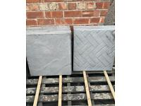 PATTERNED PAVING / FLAGS - 600X600X35MM - NEW