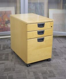 HIGH QUALITY KINNARPS UNDER DESK PEDESTAL CABINETS CUPBOARDS STORAGE DRAWS FILING FILERS