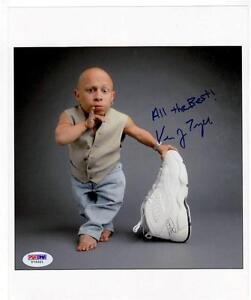 VERNE TROYER AUTOGRAPHED 8X10 PHOTO AUTO PSA DNA COA MINI ME AUSTIN POWERS