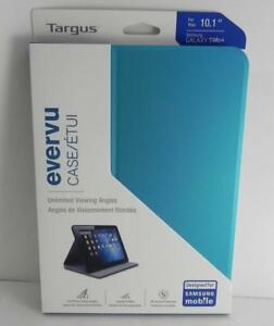 New, Targus Evervu for Samsung Galaxy Tab 4 (10.1 inch)– THZ45202- BLUE