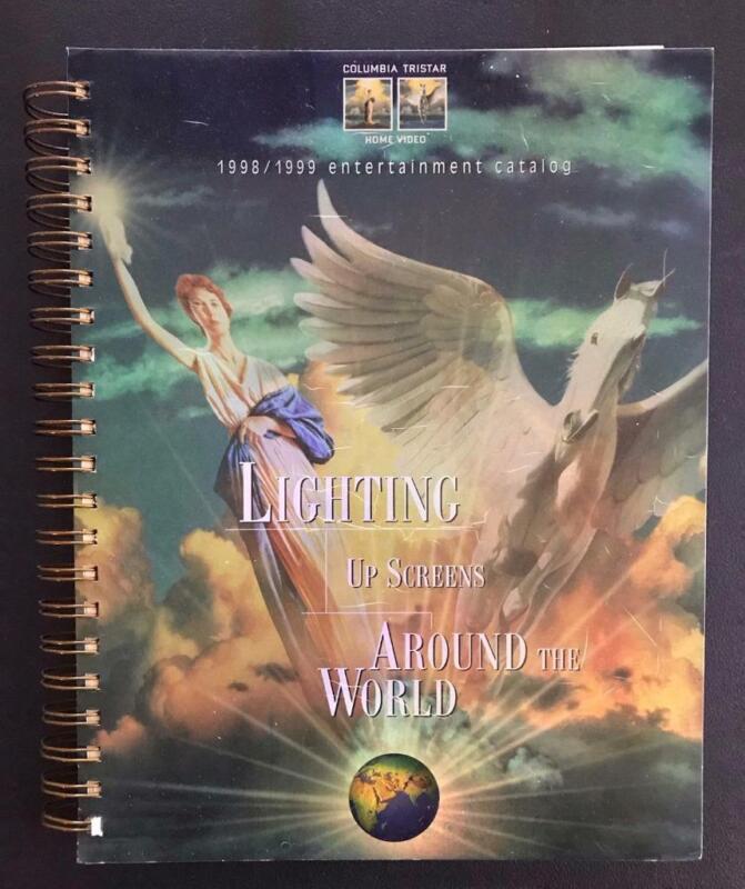 Columbia Tristar Home Video 1998-1999 Catalog VHS DVD Laserdisc COMPLETE LISTING