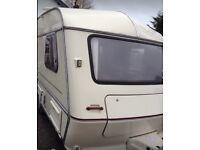 2 berth caravan with motor mover lightweight