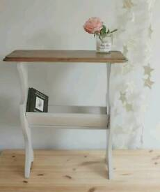 COUNTRY STYLE BOOK TROUGH/HALL TABLE