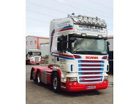 Scania 164 R620 6x2 tag axle - Left hand drive - Manual