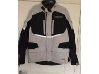 ALPINE Stars bike jacket ,Andes Drystar,used once ,size 2XL,46 chest