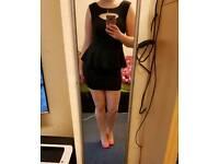 Black Peplum Dress size 12