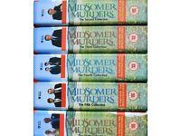 Midsomer Murders dvd box sets x5