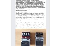 FantasticGuitar effect pedals £75 each.Hardwire RV7 with lexicon reverbs, Boss RV5 industry standard