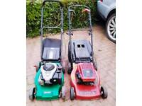 Petrol lawnmowers for sale