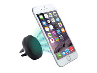 3 x MAGNETIC AIR VENT MOUNT HOLDER STAND MOBILE PHONE IPHONE SAMSUNG LG SONY HTC
