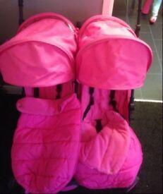 Zeta citi double stroller light weight