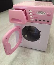 Casdon Toy Electronic Washing Machine - Pink