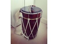 DHOL (INDIAN DRUM) FOR SALE - 1x DAGA/2x TILI/DHOL CASE ALL INCLUDED