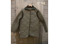 Vintage Bulgarian Army Quilted Jacket Liner - Ideal for Bushcraft, Camping