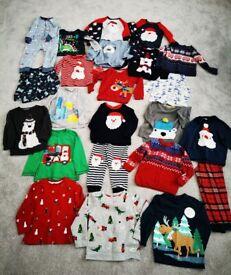 Boys Christmas Clothing Bundle (Age 3-4)