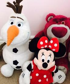 Large Disney store teddy bundle