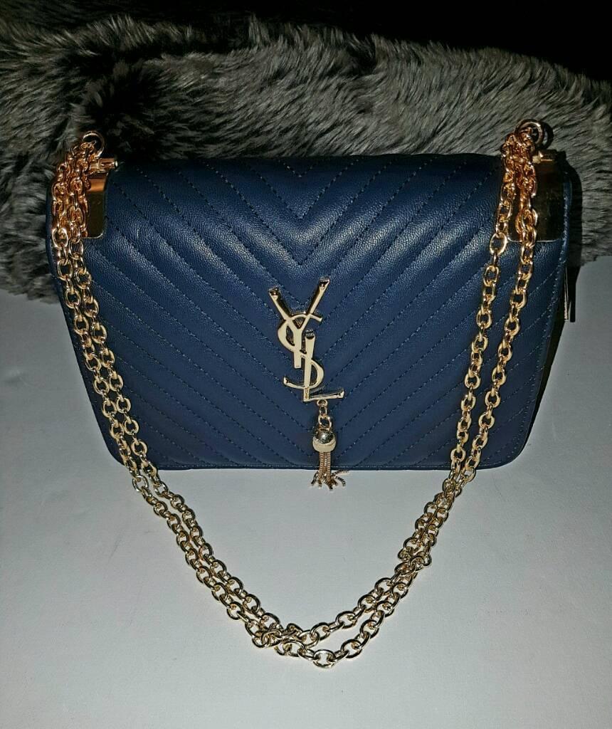 Ysl handbag and clutch